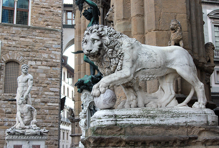 Florence, lion